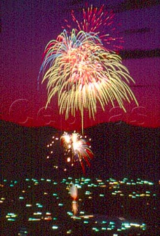 Independence Day Fireworks Provo Utah   USA