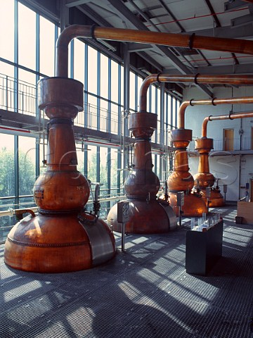 Copper stills for Gin production United Distillers Gordons Tanqueray etc Laindon Essex England