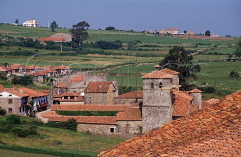 15thcentury village of Santillana del Mar Cantabria Spain