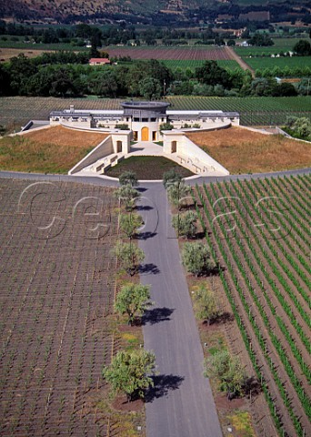Opus One winery Oakville Napa Valley California