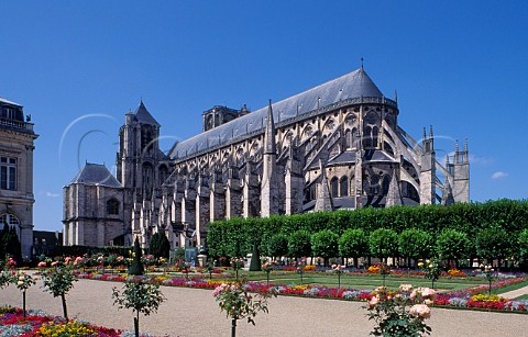 Cathedral of StEtienne Bourges Cher France