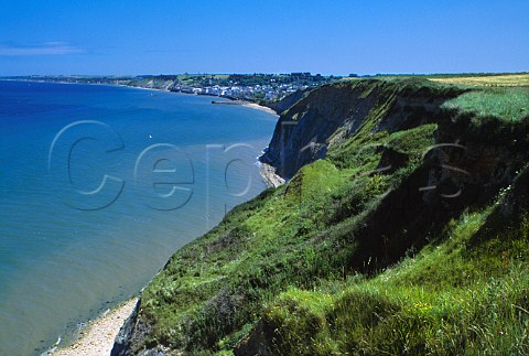 Cliffs at Arromanches Calvados France   Basse Normandie