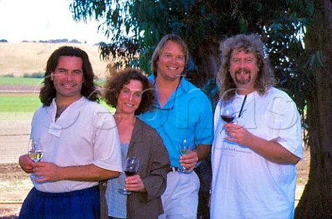 Jim Clendenen Au Bon Climat David Guffy   Cambria Kathy Joseph Fiddlehead and   Bruno dAlphonso Sanford  Winemakers of Santa Barbara County California