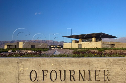 OFournier winery Mendoza Argentina  Uco Valley