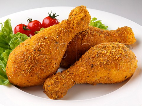 Cephas Picture Library - Asset Details 1231466- Breaded drumsticks