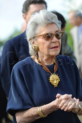 Cephas Picture Library - Asset Details 1232045- Baroness Philippine de Rothschild (died 201