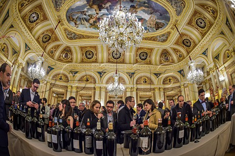 Union des Grands Crus Classs tasting in the Grand Thatre Bordeaux Gironde France